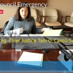 Opening Remarks: Council's Apr 6 Emergency Meeting