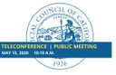 Council to Hold Regular Business Meeting May 15