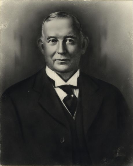 Portrait of George Luks, 1928 by Eugene Thomason