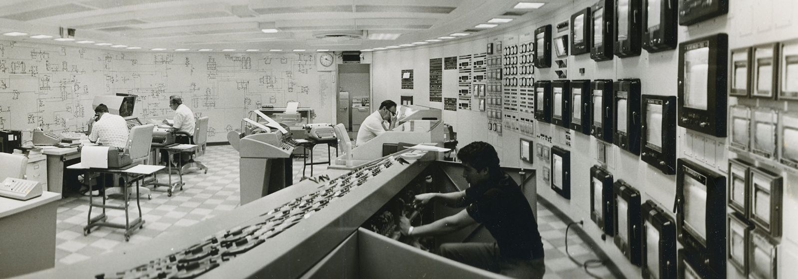 Retro photos: At the controls