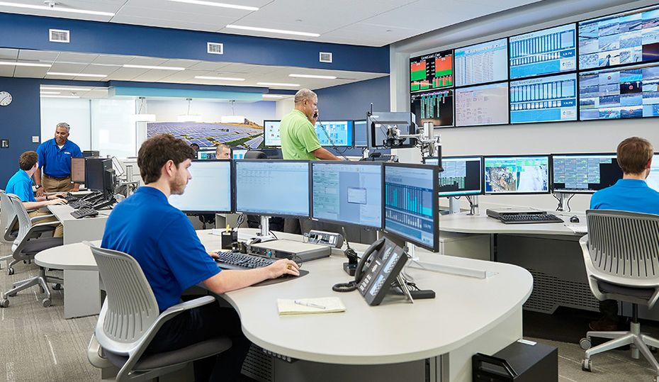 Inside the Renewable Energy Monitoring Center