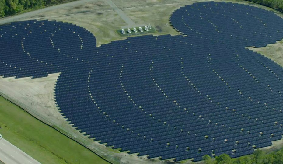 Solar takes shape at Walt Disney World