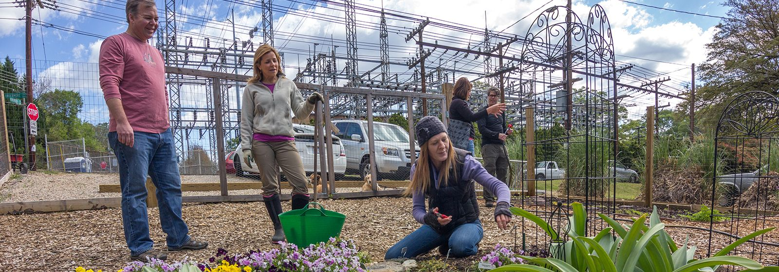 Her daring email launched garden at substation