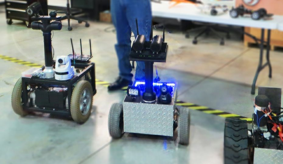 Engineer builds robots that protect Kentucky police