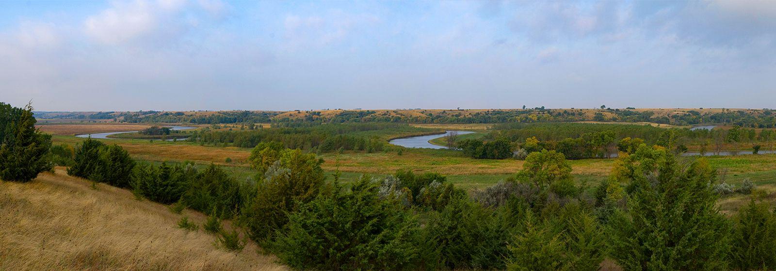 Blighted prairie restored to natural splendor