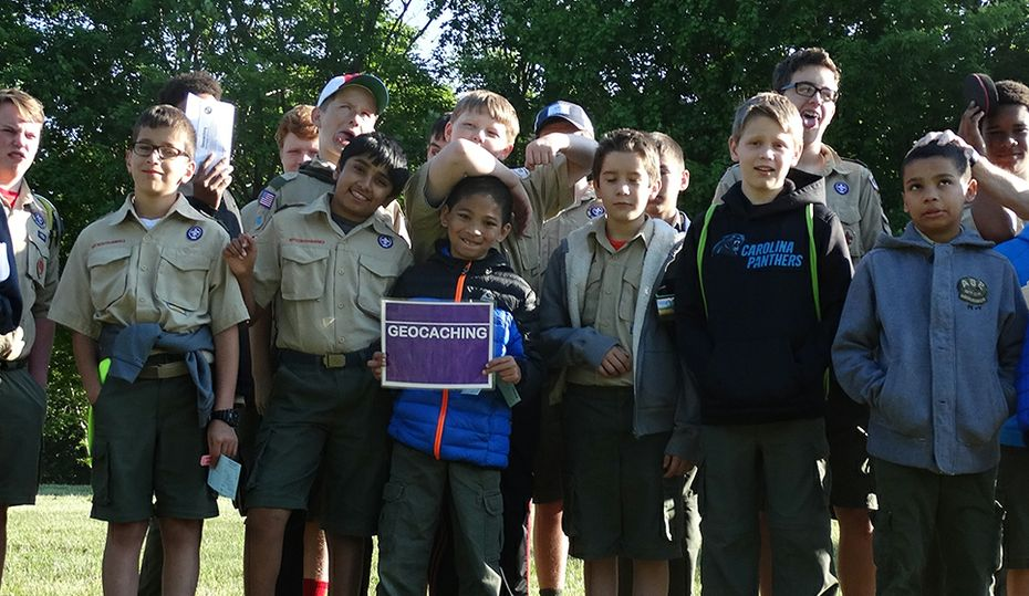 Boy Scouts love science camp at nuclear plant