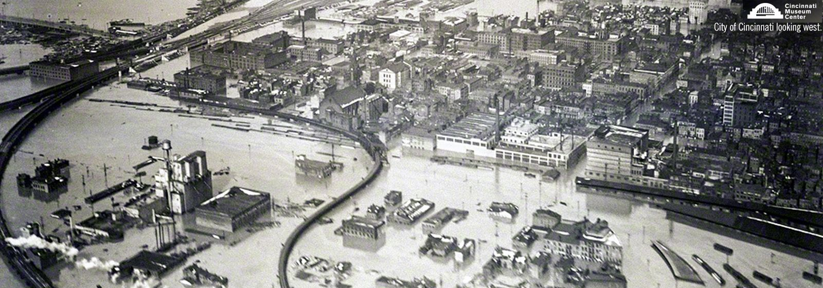 Workers powered hope and lights during 1937 flood