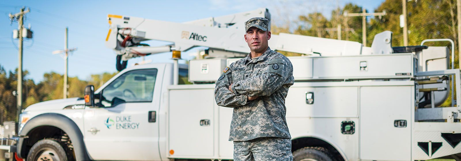 Why Duke Energy wants veterans for lineman positions