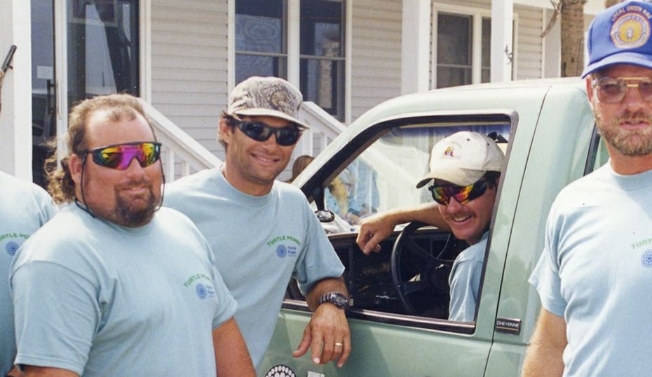 Retro photos: The men of 'turtle power'
