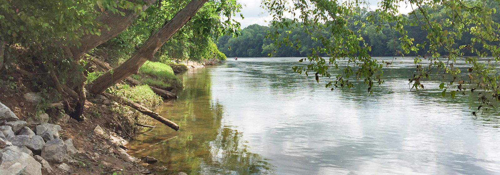 When nature calls on the Catawba-Wateree River