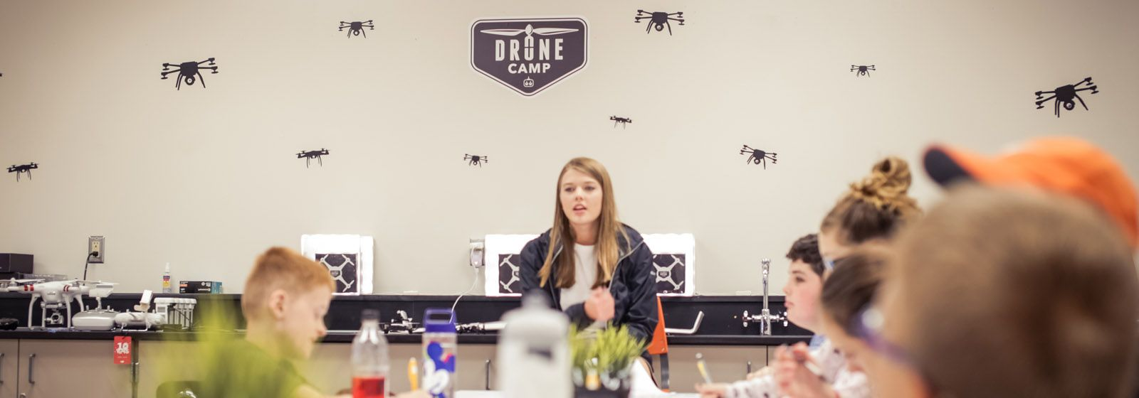 Kids get their wings in drone technology