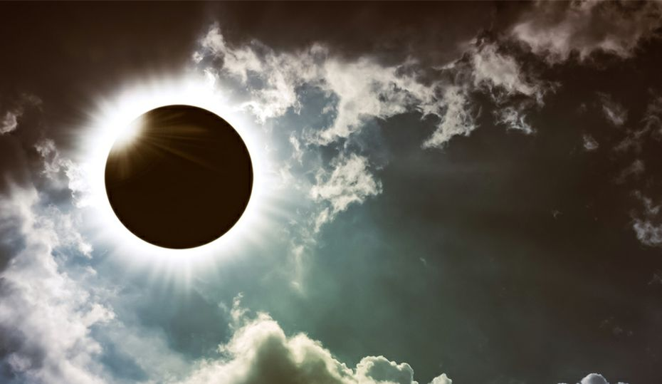 What happened to solar energy during the eclipse?