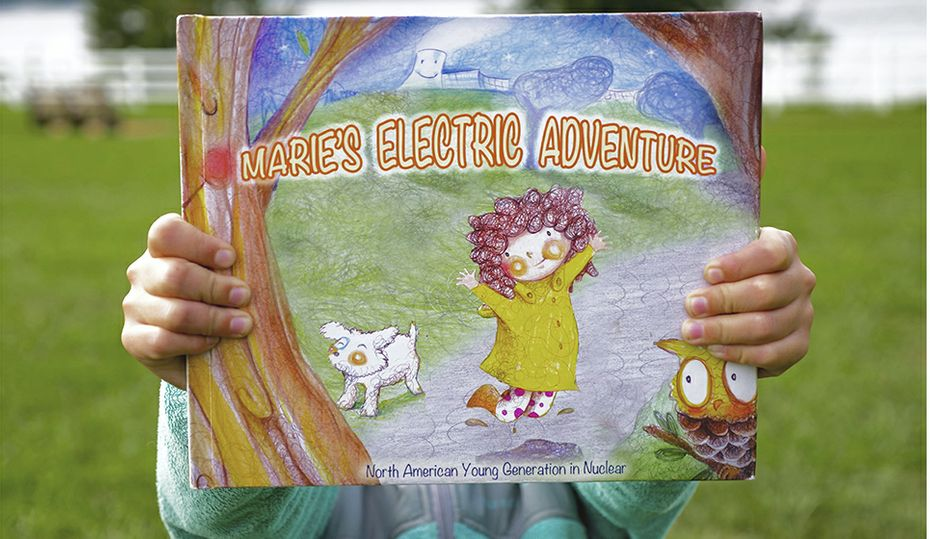 Marie learns how nuclear energy makes electricity