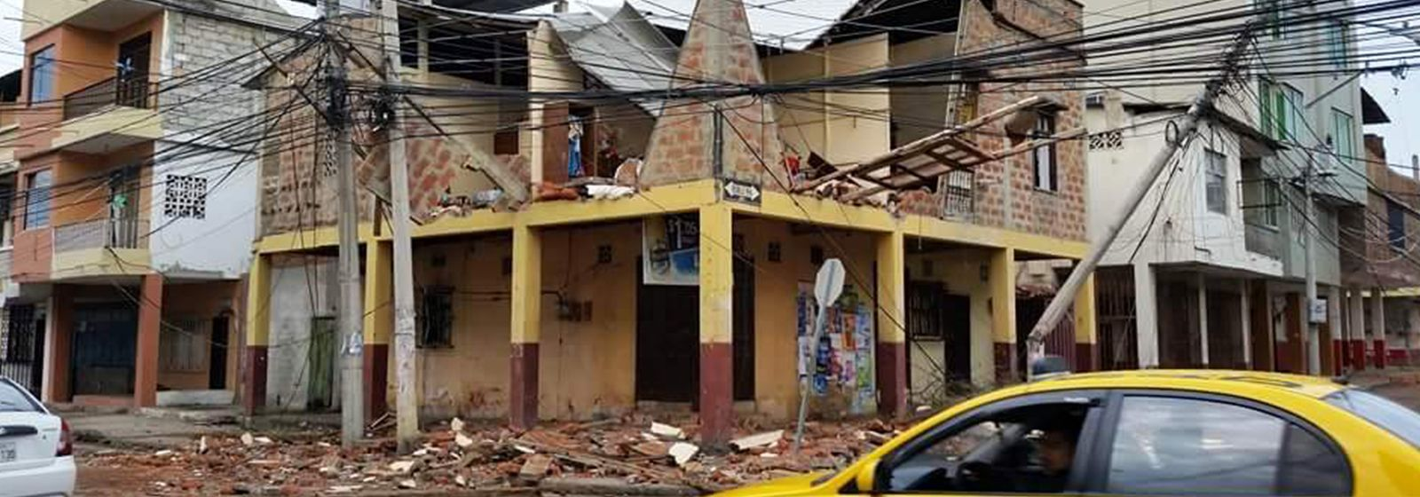 When earthquake hit Ecuador, she stepped up