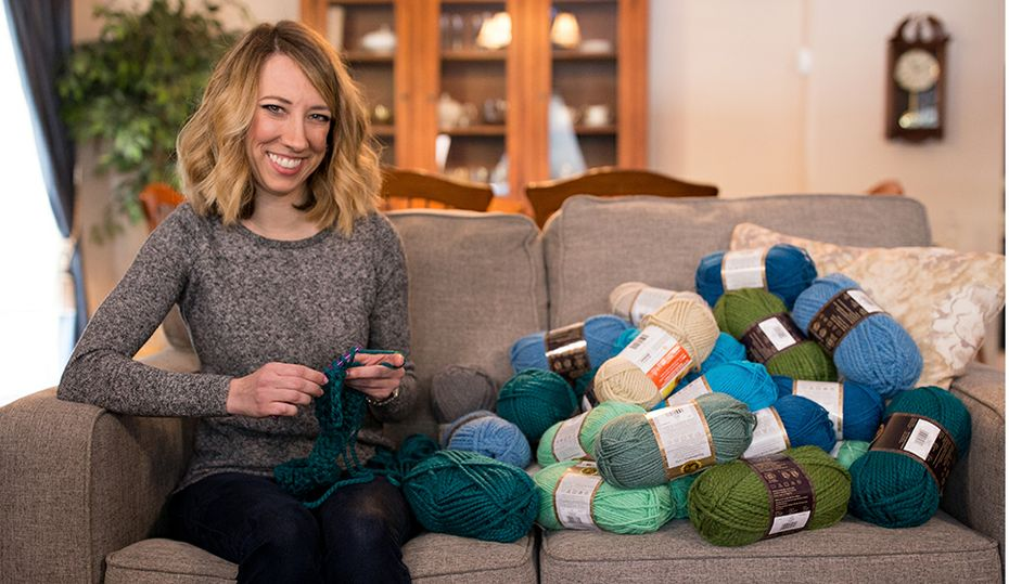 She crochets her way into energy savings