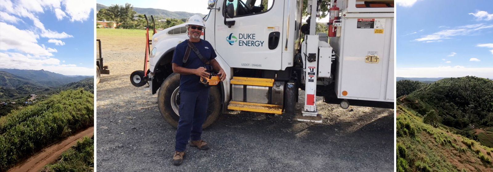 After Hurricane Maria, duty called him home to help