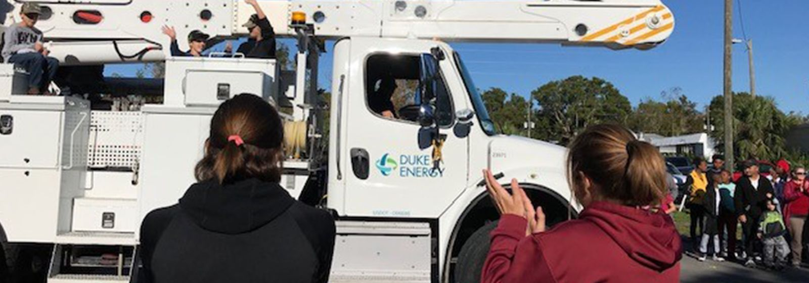 A thankful Florida Panhandle honors lineworkers after hurricane