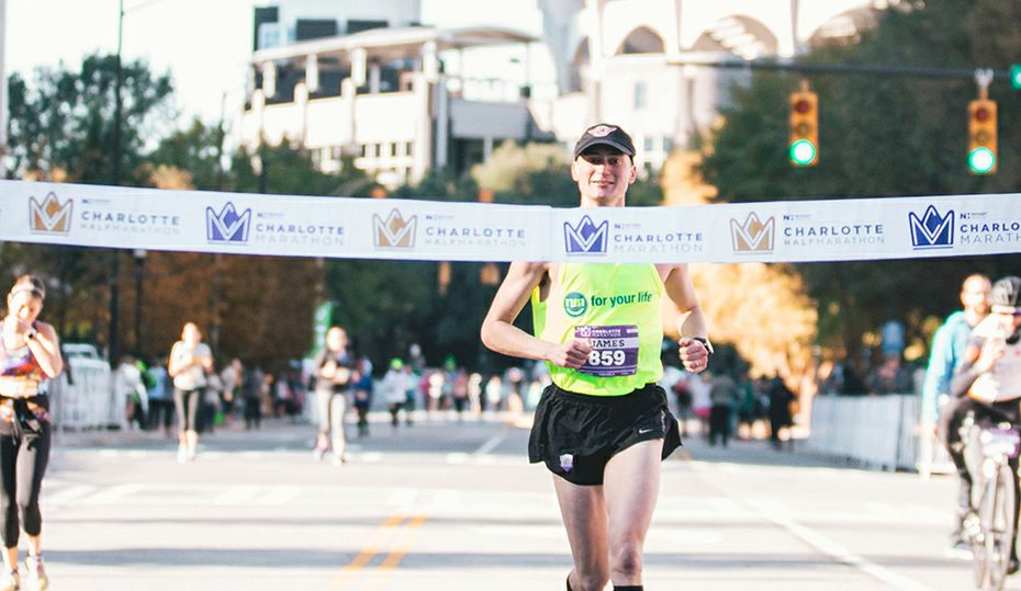Running partners win Charlotte marathons