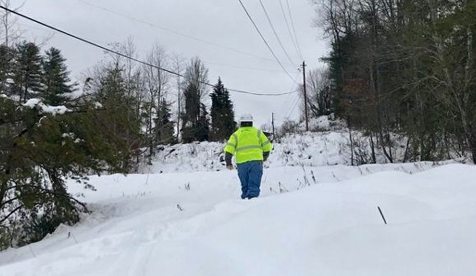 In snow and ice, crews determined to restore power
