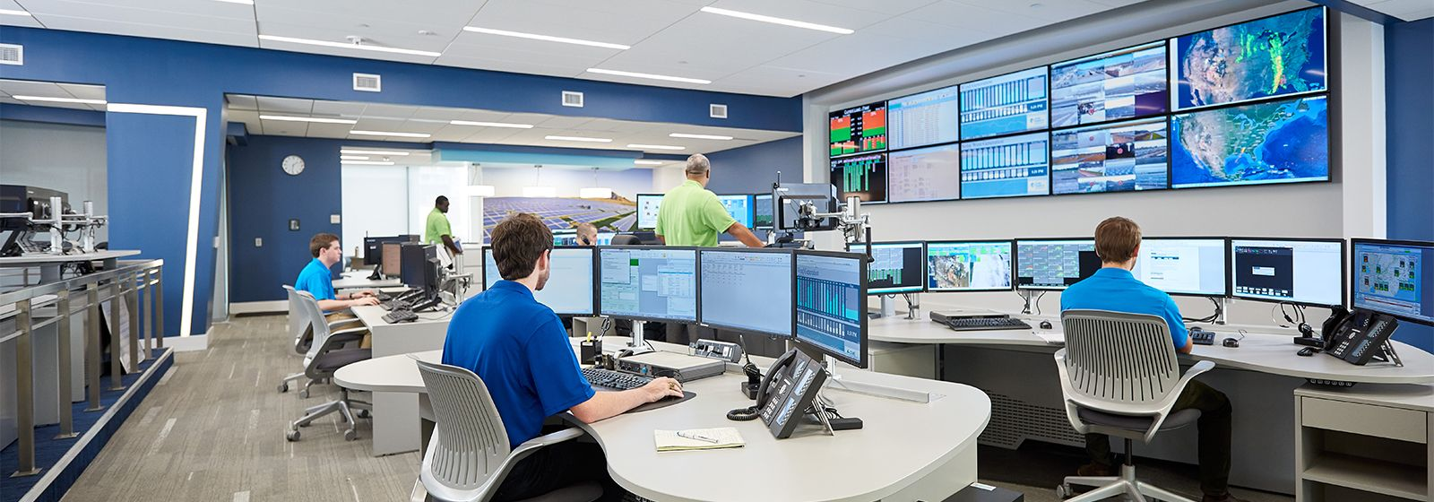 High-tech control center helps grow renewable energy