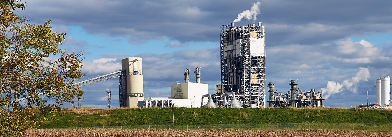 Clean and efficient power plant supports community