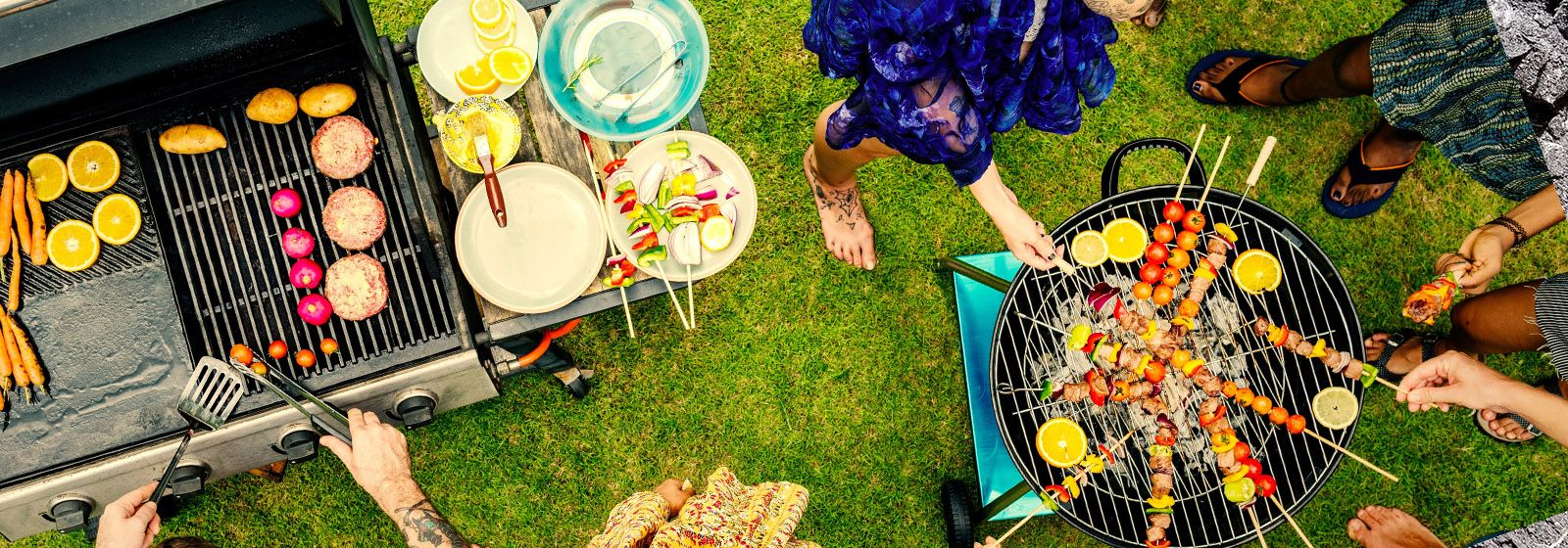 When you grill supper, you save on energy costs