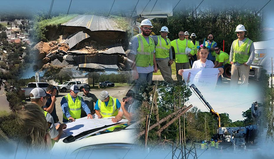 How the power was restored after Hurricane Florence