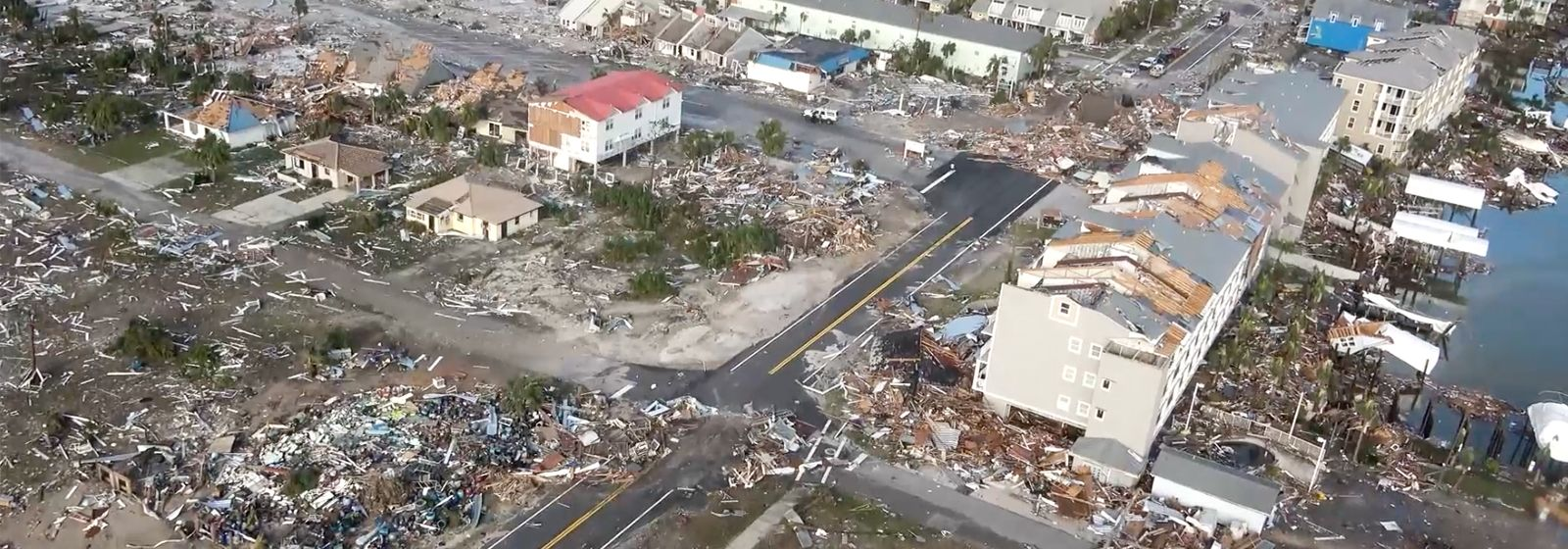 Hurricane Michael damage so extensive, company inspecting with boats and drones