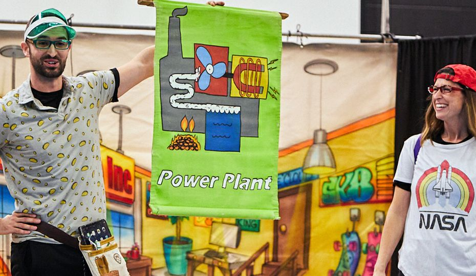 Play teaches children about saving energy