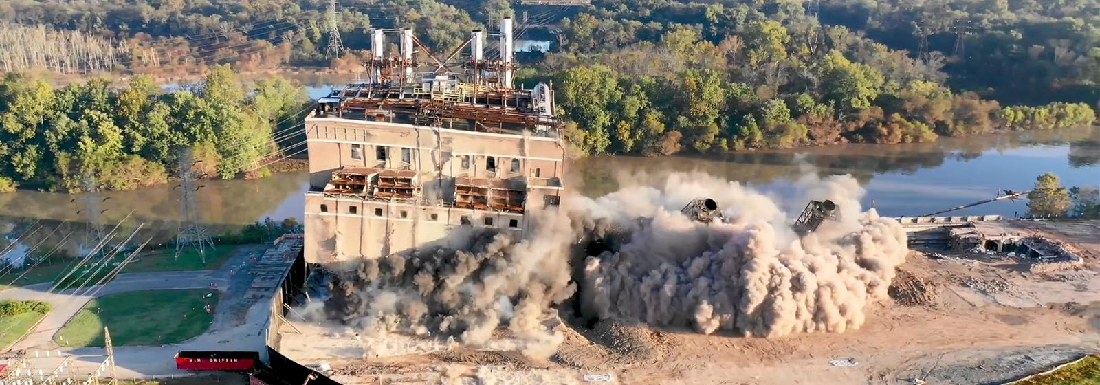 A televised farewell to a historic power plant
