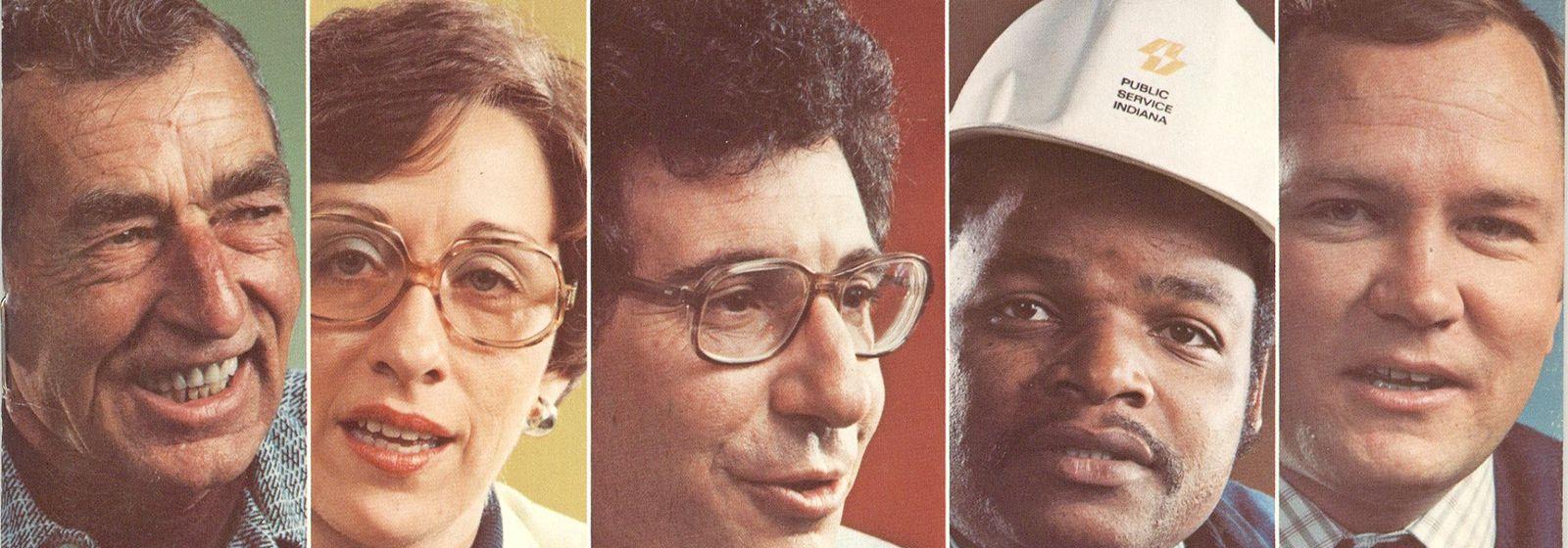 Retro photos: classic annual report covers
