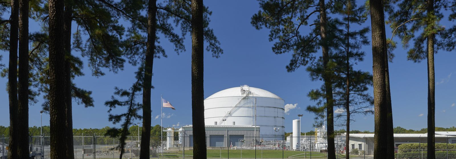 Liquefied Natural gas plant in North Carolina stays prepared for cold winter days