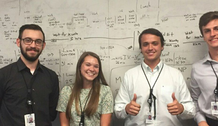 Their internships: nuclear energy and innovation