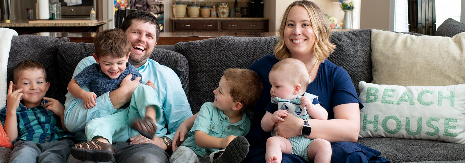 For this family, three of a kind helps lead to a full house