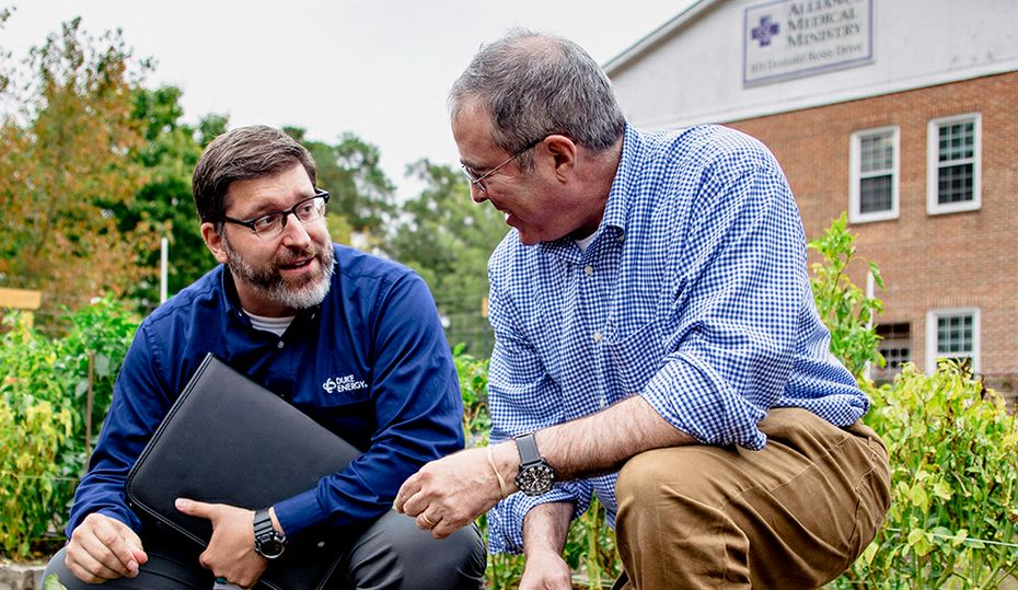 With lower energy bills, clinic helps more