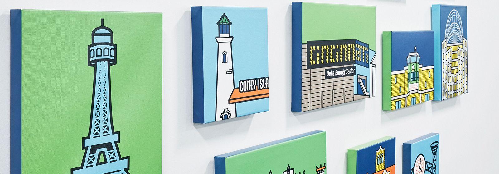 Paintings unite communities at Duke Energy service center