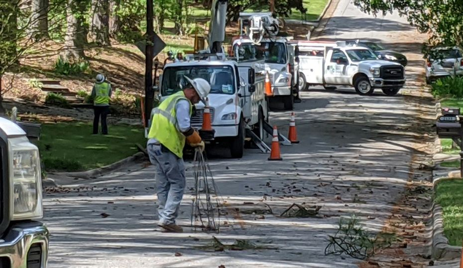 Crews adjusted for pandemic and restored power after storm