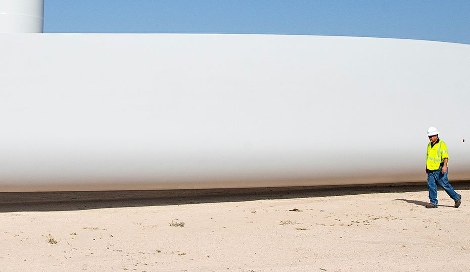 These Texas wind turbines are some of nation's tallest