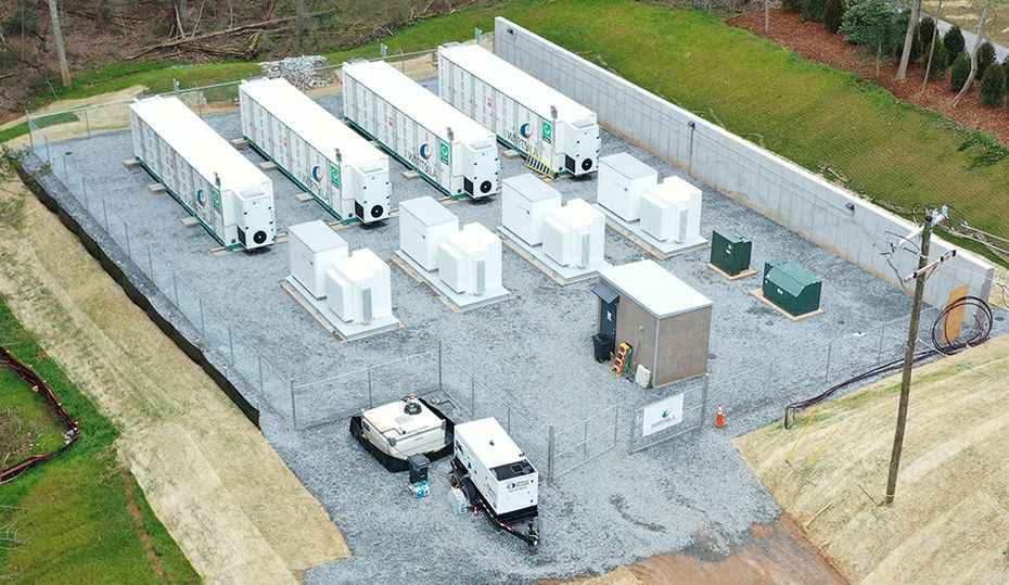North Carolina's largest battery now running in Asheville