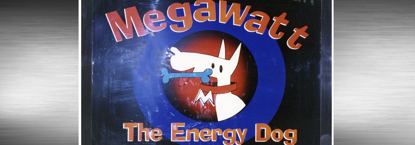 Retro photos: It's Megawatt, the energy dog!