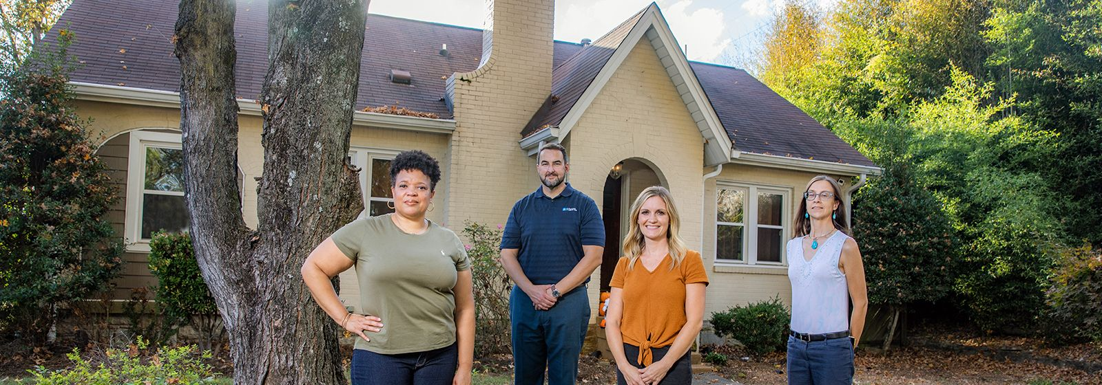 Piedmont Natural Gas employees saved house in Nashville to give students  a home