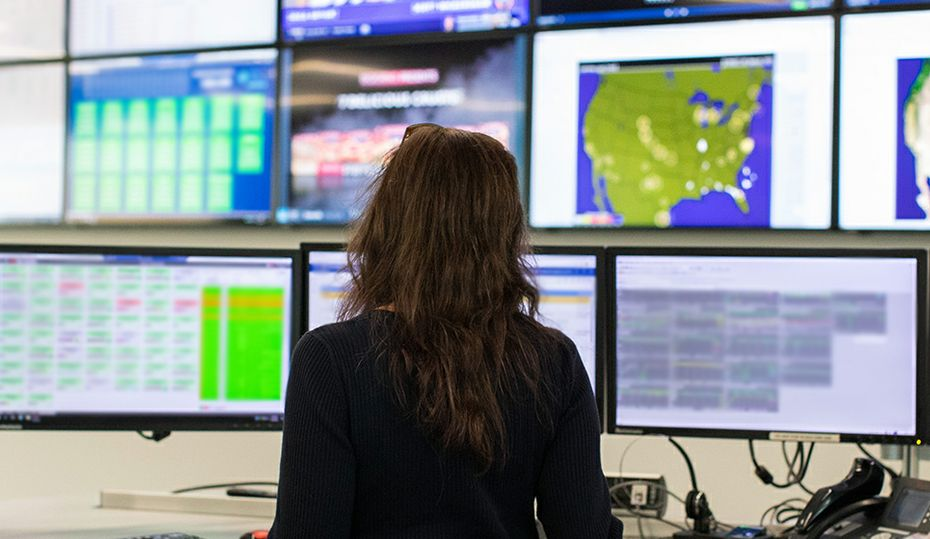 Look inside Duke Energy's Renewable Control Center