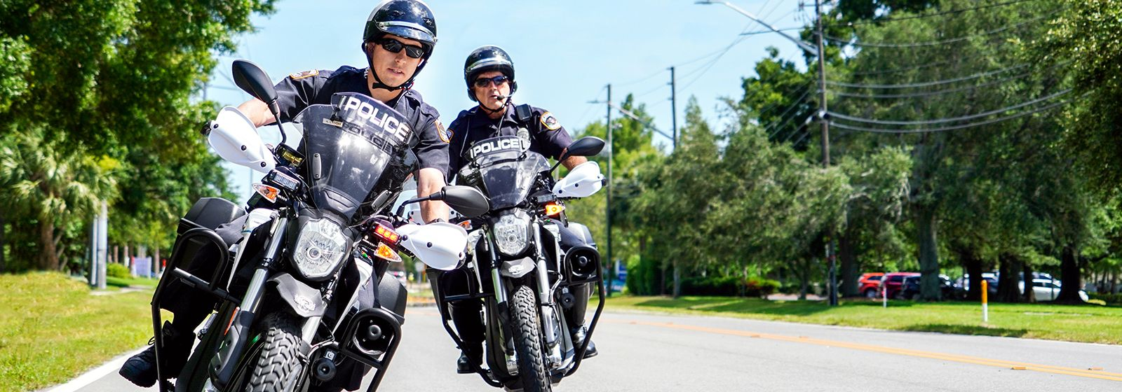 Electric police motorcycles help Florida city meet sustainability goals
