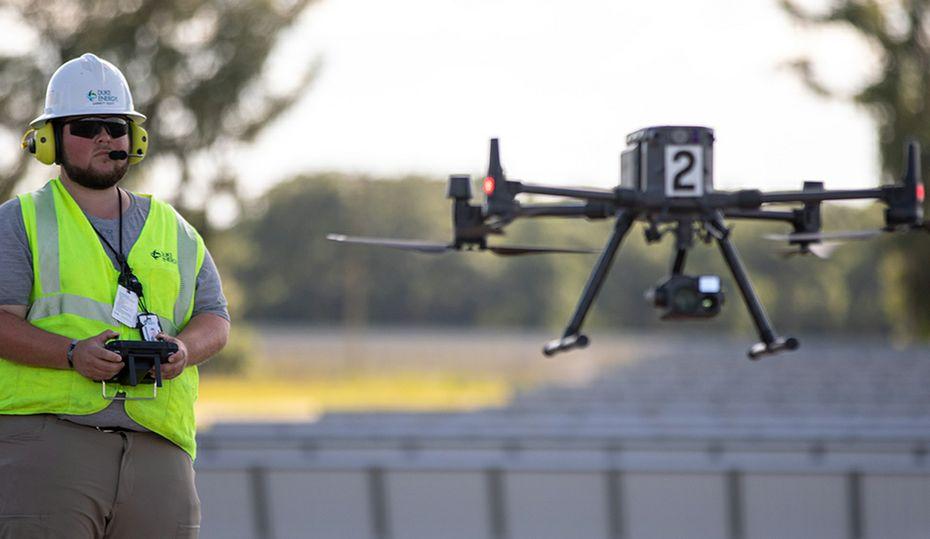 Drones help Duke Energy work safer, more efficiently