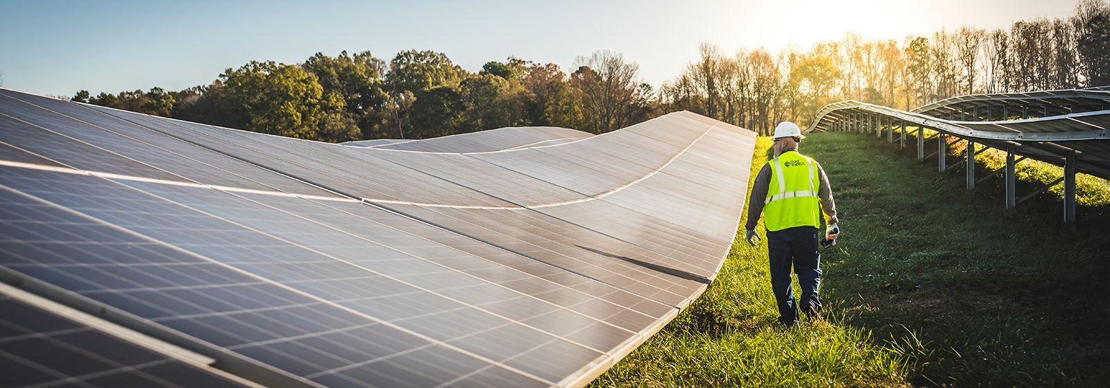 New Texas solar site helps Duke Energy reach renewable energy milestone