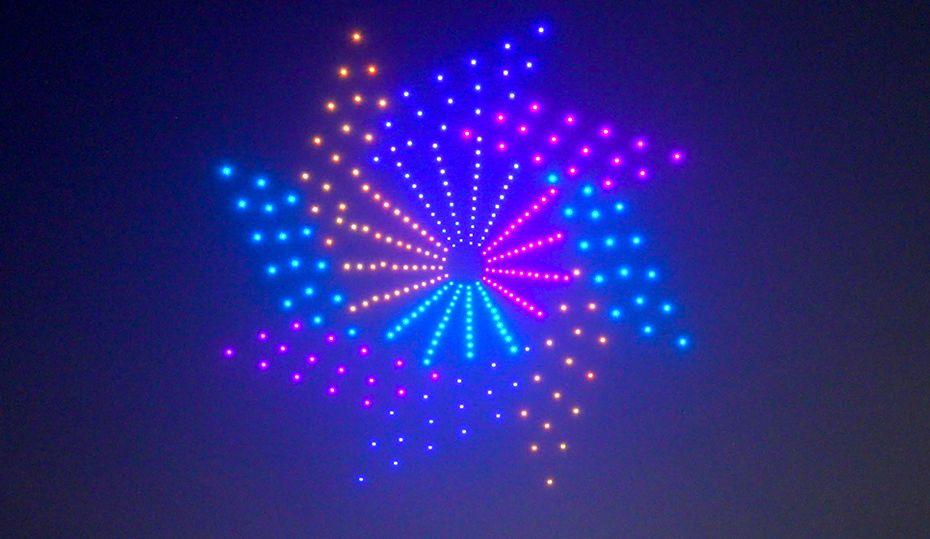Watch 300 drones sparkle over St. Pete's pier