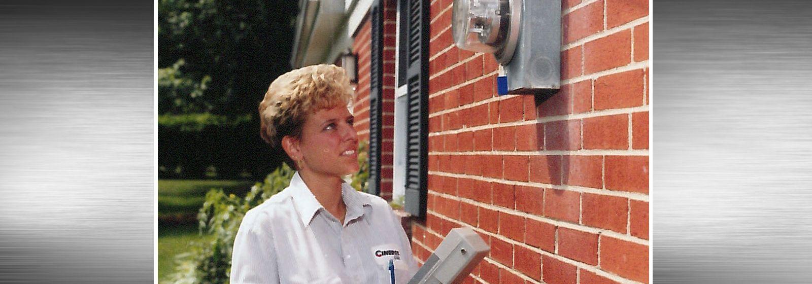 Retro photos: Minding the meter