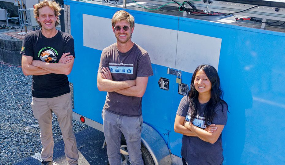 A clean, quiet way to transform disaster response