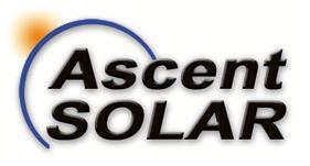 Ascent Solar Technologies, Inc