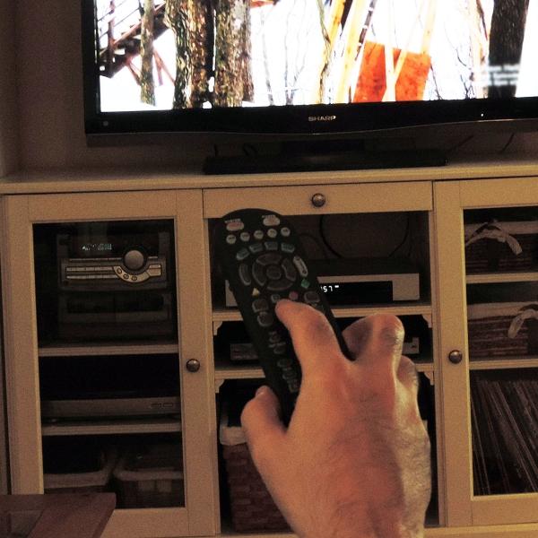 TV+watching+-+man